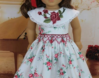 PDF Smocked Dress Pattern for American Girl Dolls