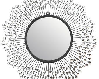 "Celebration Decorative Wall Mirror, Frame Size 24"" [L24M]"