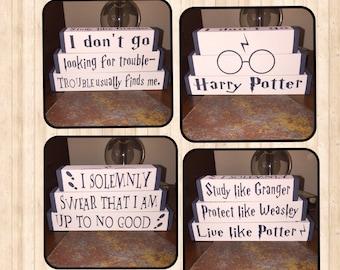 Harry Potter fan block set