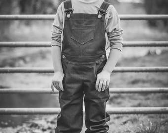 MBJM I Dig Dungarees (Overalls) PDF Sewing Pattern (0-3m - Age 12)