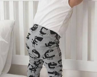 Monster Print Child & Baby Leggings