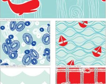 Good Natured Orange Color Way Riley Blake Woodland 100% cotton Fabric designed by Marin Sutton