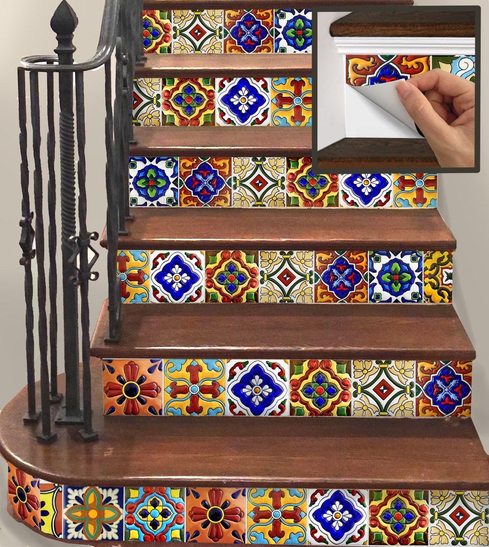 15steps escalier contremarche vinyle lani res amovibles. Black Bedroom Furniture Sets. Home Design Ideas