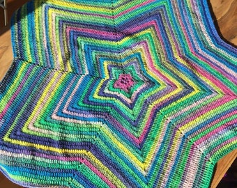 Star Shaped Baby/Pram/Toddler Blanket