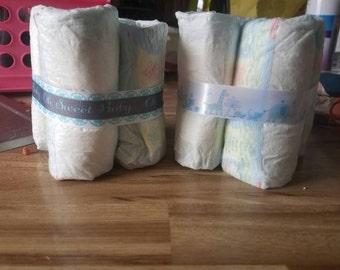 Diaper Center Pieces