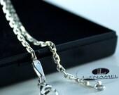 Handmade Chain Silver Anchor Chain Gift For Her Chain For Pendant Silver Chain For Necklace Silver Chain