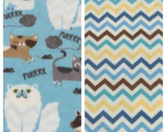 Fleece Cat Blanket(C11,C77)