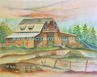 Barn in the Summer