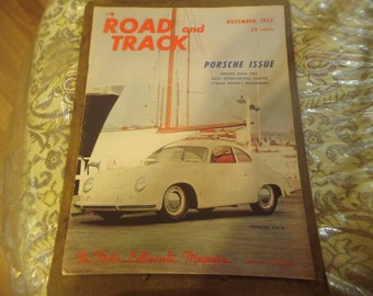 "1952 Road & Track Special ""Porsche Issue"