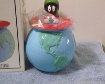 Vintage Marvin the Martian Cookie Jar