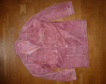 Velvet jacket vintage grosgrain