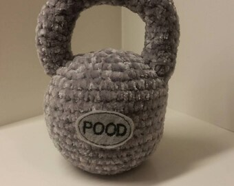 Baby Crochet Kettlebell Softie/Rattle