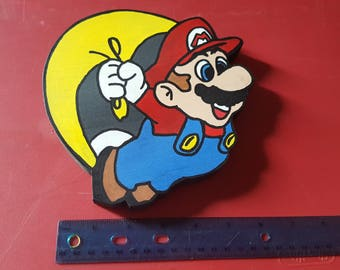 Super Mario Cape Wall Art
