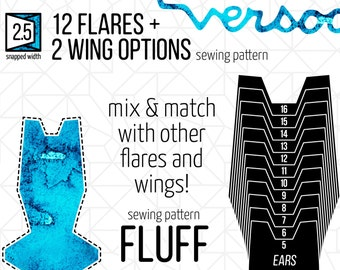 "2.5"" FLUFF Ears 