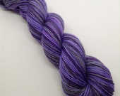 Dressed For Success Self-Striping - Hand Dyed Fingering Weight Yarn - Bootheel (400 yards)