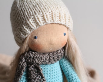 Mera's Hat Pattern PDF, a doll hat knitting pattern