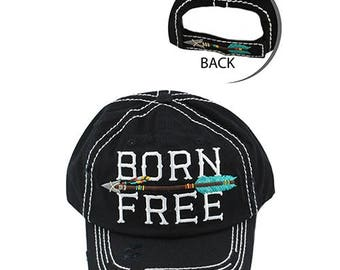 Bron Free Arrow Distressed Hat