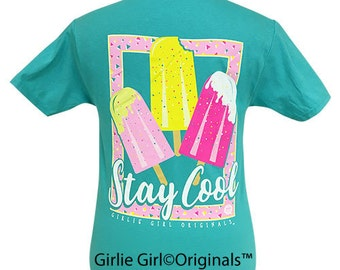 Girlie Girl Originals Stay Cool Scuba Blue Short Sleeve T-Shirt
