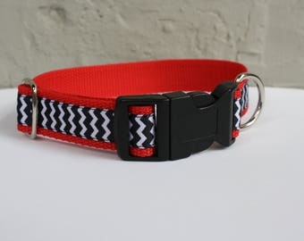 Twin Peaks Dog Collar/Red Room Dog Collar