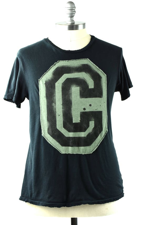over sized C tee shirt
