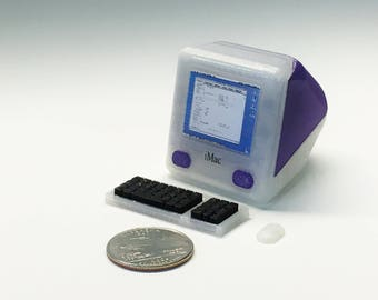 Mini Apple iMac G3 - 3D Printed!