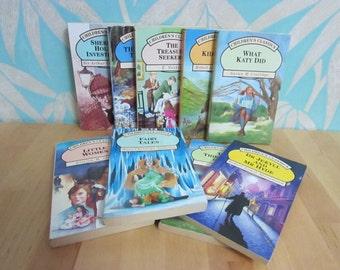 Set of 9 vintage Children's Classics paperback story books by Parragon