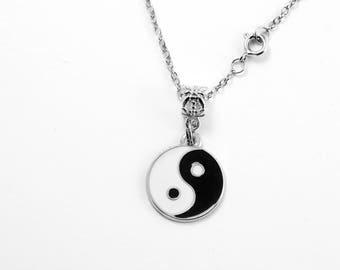 Yin and  Yang Charm necklace ying yang necklace ying and yang necklace yin yang necklace yin yang charm necklace yin yang jewelry