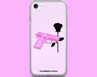 Gun and Rose iPhone 7 Case, iPhone 7/7plus, iPhone 6/6 Plus, iPhone 5