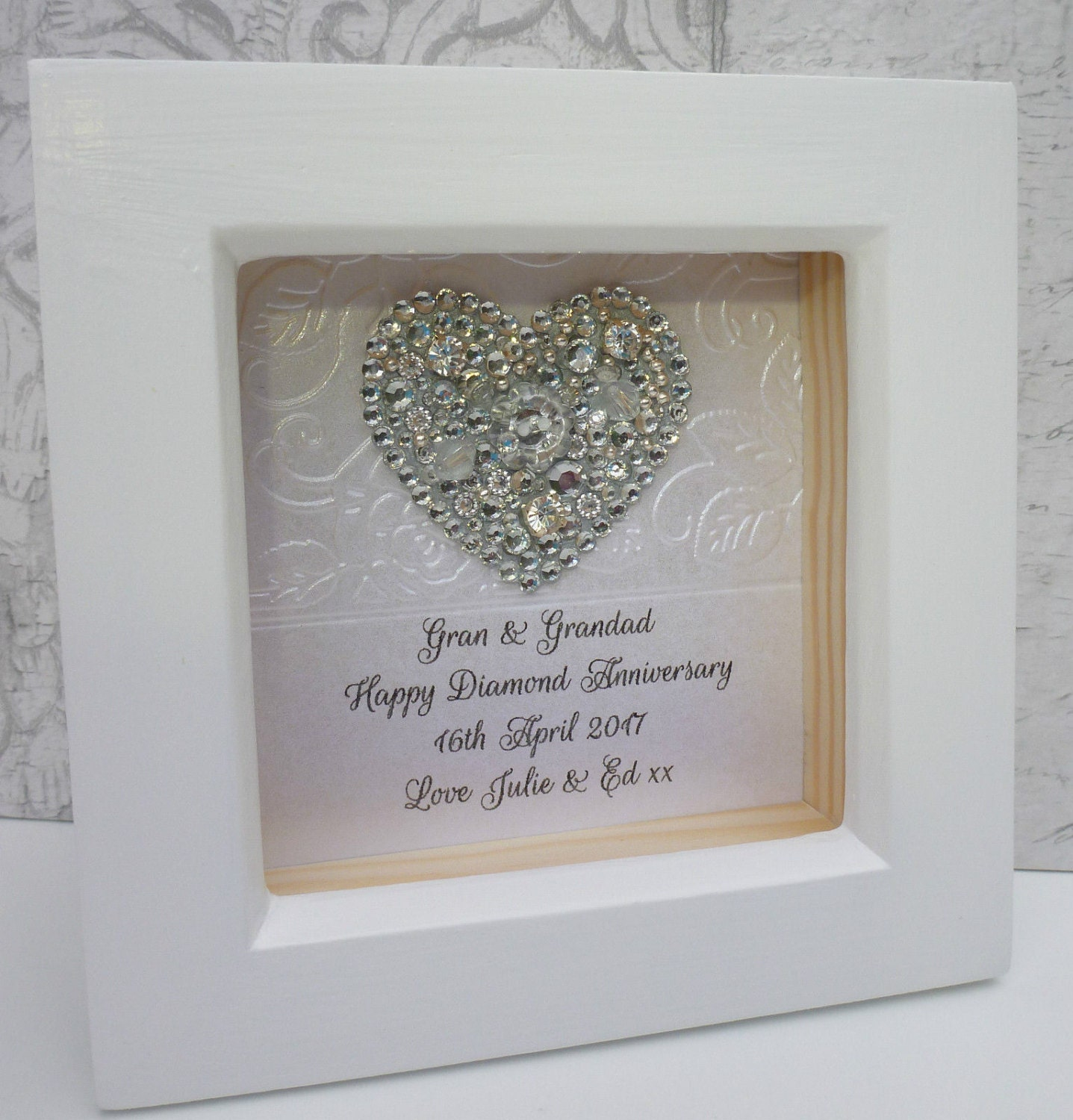 Gifts For 60th Wedding Anniversary: 60th Anniversary Gift, 15th Wedding Anniversary Gift