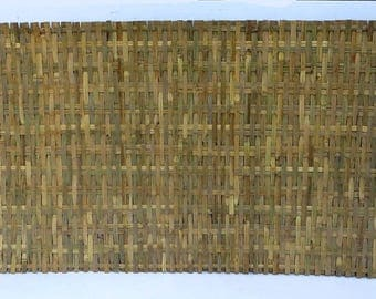 """Bamboo Woven Mat Fence, 87""""L x 44""""H, Set of 8 peices, BWF-310"""