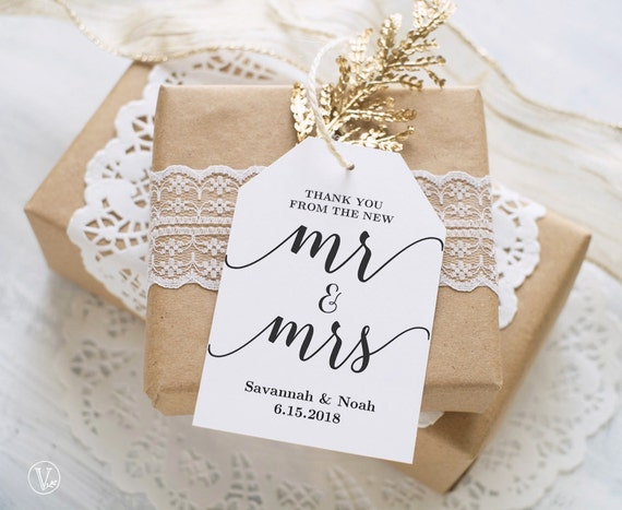 Free Printable Wedding Gift Tags: Favor Tags Printable Wedding Favor Tags Template Thank You