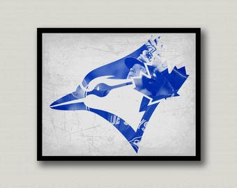 Toronto Blue Jays Printable Wall Art, Instant Download