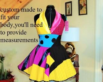 Sally dress ,  nightmare dress ,The Pumpkin Queen dress .