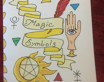 Magical Symbols Zine