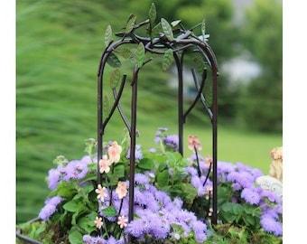 Fairy Garden  - Flower Arbor - Miniature