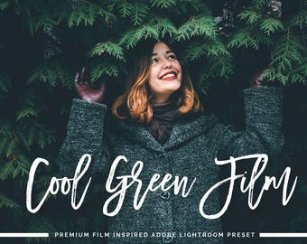 Cool Green Film VSCO Inspired Adobe Lightroom Preset