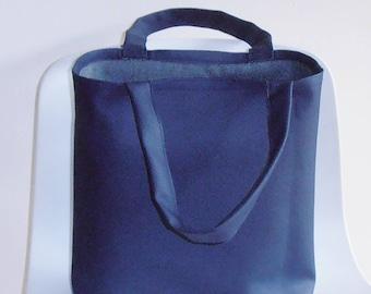 blue Bag,Tote Bag blue, handbag,imitation leather, shopping bag, gift idea