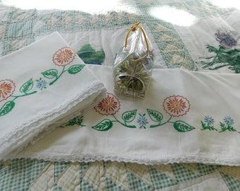 Sweet Forest Flower Pillowcases