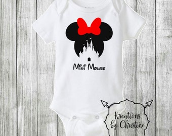 Mini Mouse Bodysuit
