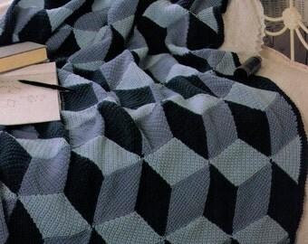 PDF Crochet Afghan Pattern Lap Throw Pattern Lap Afghan