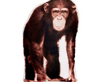 Chimpanzee, Chimp, Zoo Animal Nursery, Monkey, Boys Bedroom, Monkey Nursery, Baby Gift, Boys Nursery Decor, Different gifts, Baby Boy Gift