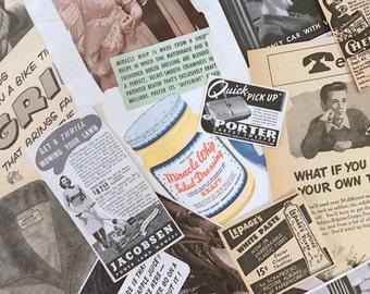 Vintage Advertisements - Antique Advertisements - 10 Random Advertisements - Vintage Magazines - Vintage Books - Ads - Retro Ads - 1950s