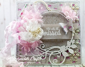 Shabby Chic You'll Be Missed Greeting Card