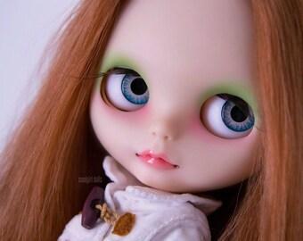 """RESERVED - OOAK Custom Blythe doll """"Chelsea"""""""