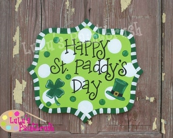 St. Paddy's Day-LuLu Original-St. Patrick-Happy St. Paddy's Day-Shamrock-Four Leaf Clover-Leprechaun-March-Happy St. Patricks Day-Irish