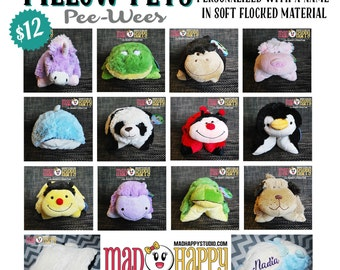 Personalized Mini Pillow Pets