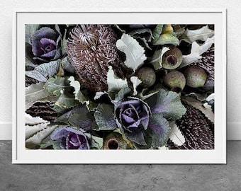 Native Flowers, DIGITAL Download, Instant File, 11x16 inch file, Photography, Fine Art Print, Botanical Print, Flora, Home Decor