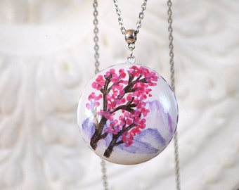 necklace nature jewelry pendant for women wedding gift for girl gifts jewellery gifts under 25 charm jewelry statement necklace bohemian Art