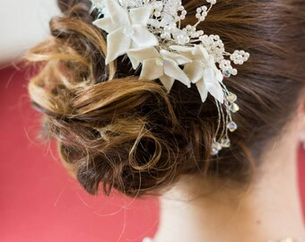 Comb wedding accessory married hairstyle