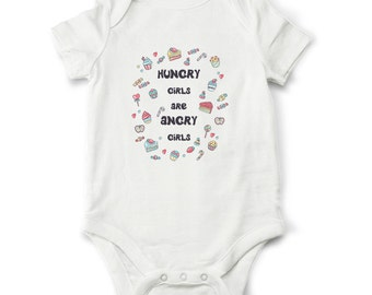 Baby girl bodysuit, Funny baby girl bodysuit,  Funny baby shower gift, baby girl clothes